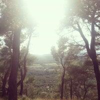 Photo taken at Plateau de Ventabren by Alcaraz M. on 2/26/2014