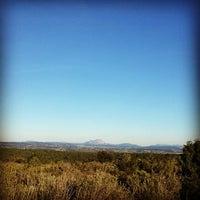 Photo taken at Plateau de Ventabren by Alcaraz M. on 3/2/2014