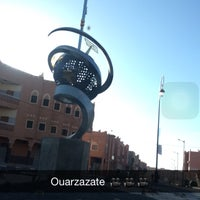 Photo taken at Ouarzazate by Usef G. on 4/18/2016
