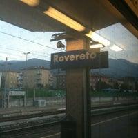 Photo taken at Stazione di Rovereto by William F. on 11/9/2012