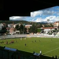 Photo taken at Stadio Tommaso Fattori by Manuel L. on 6/2/2013