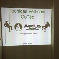 Photo taken at Grupo Aerius - Circo e Aventura by Diego F. on 12/20/2013