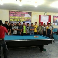 Photo taken at Master Billiard by Lily C. on 5/19/2015