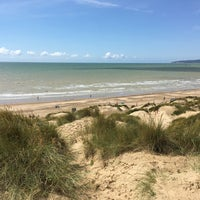 Photo taken at Camber Sands Beach by Lilian P. on 8/6/2017