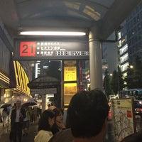 Photo prise au 新宿駅西口バスターミナル 23番のりば par keiyo201 le6/5/2015