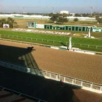 Photo taken at Fair Grounds Race Course & Slots by Rodney D. on 11/30/2012