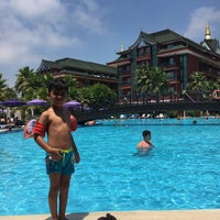 Photo taken at Siam Elegance Pool by Ömer O. on 7/14/2017