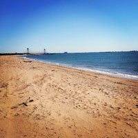 Photo taken at New Dorp Beach Park by Dan A. on 5/27/2013
