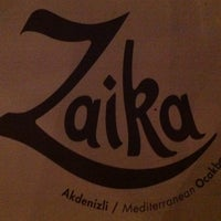 Photo taken at Zaika by Esra O. on 9/12/2013
