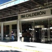 10/29/2012 tarihinde Luis J.ziyaretçi tarafından NH Gran Hotel Calderón'de çekilen fotoğraf
