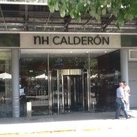 1/22/2013 tarihinde Luis J.ziyaretçi tarafından NH Gran Hotel Calderón'de çekilen fotoğraf