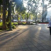 Photo taken at Praça Tiradentes by Vinicius B. on 1/18/2013