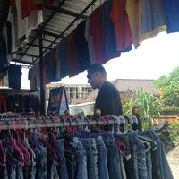 Photo taken at Pasar Kodok (Frog Market) by Irena A. on 1/23/2013