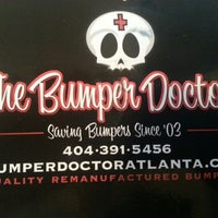 Photo taken at The Bumper Doctor by Kate K. on 1/14/2013