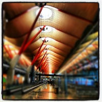 Photo taken at Terminal 4 Satélite by Juan Pedro M. on 10/19/2012