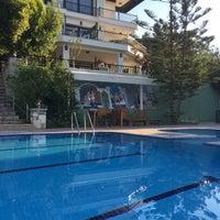 Photo taken at Villa Marine Apart Hotel by Huseyin C. on 9/15/2018