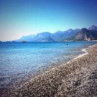 10/5/2013 tarihinde Huseyin C.ziyaretçi tarafından Konyaaltı Plajı'de çekilen fotoğraf