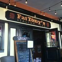 Photo taken at Fat Tony's Italian Pub by Jillian H. on 2/24/2013