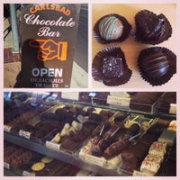 Photo taken at Carlsbad Chocolate Bar by Ashley M. on 8/26/2015