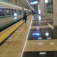 Photo taken at Ankara High-Speed Train Station by Murat A. on 4/20/2018