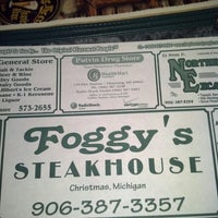 Photo taken at Foggy's Steakhouse by Chris Z. on 2/17/2013