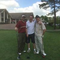 Photo taken at Blue Heron Pines Golf Club by Ryan B. on 5/17/2014