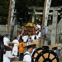 Photo taken at 御油神社 by Noritoshi M. on 8/2/2013