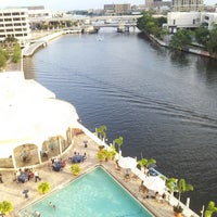 Photo taken at Sheraton Tampa Riverwalk Hotel by Joe G. on 4/28/2013