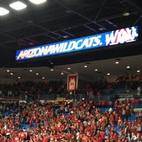Photo taken at McKale Center by Justin L. on 2/7/2013