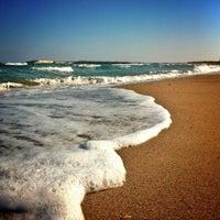 Photo taken at Plaja Neptun by Cristian S. on 9/30/2012