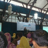 Photo taken at Aula Barat ITB by Fakhrudin on 10/8/2012