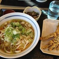 Photo taken at どんどん庵 日置橋店 by Megumi I. on 2/17/2013