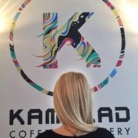 4/10/2016 tarihinde Fulyziyaretçi tarafından Kamarad Coffee Roastery'de çekilen fotoğraf