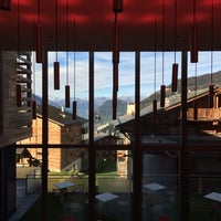 Photo taken at W Verbier Hotel & Residences by Sam G. on 10/14/2014