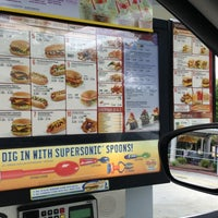 Photo taken at SONIC Drive In by Colleen M. on 7/13/2013