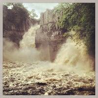 Photo taken at High Force Waterfall by Matt W. on 7/28/2013