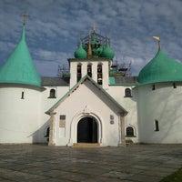 Photo taken at Храм преподобного Сергия Радонежского (Куликово поле) by Ivan 😽 G. on 9/19/2017