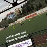 Photo taken at Karamursel Sehir Stadı by Hüseyin Ö. on 2/3/2018