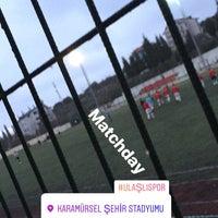 Photo taken at Karamursel Sehir Stadı by Hüseyin Ö. on 2/23/2018