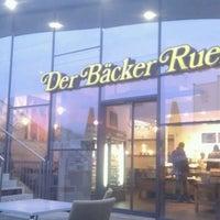 Photo taken at Der Bäcker Ruetz by Markus S. on 11/18/2013