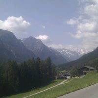 Photo taken at Gschnitztal by Markus S. on 7/14/2013