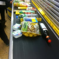 Photo taken at Lidl by Nick W. on 3/19/2013