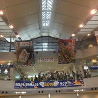 Photo taken at Niigata Airport (KIJ) by Tatsushi I. on 5/6/2013