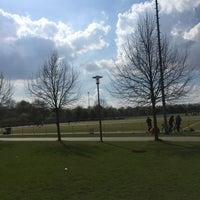 Photo taken at Fussball-Anlage Köln Salzburger Weg Kunstrasenplätze by Yaya M. on 4/2/2017