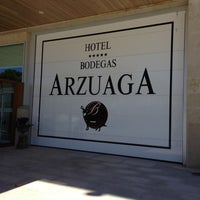 Photo taken at Restaurante Hotel Arzuaga by Nacho A. on 4/20/2013