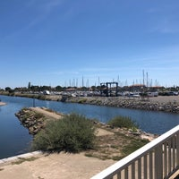 Photo taken at Gruissan by Lina on 8/16/2018