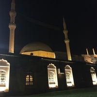 Photo taken at Yeni Mevlid-i Halil Cami-i by Nilay on 10/22/2016