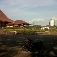 Photo taken at Universitas Gadjah Mada (UGM) by RounaldhusZ C. on 10/2/2012