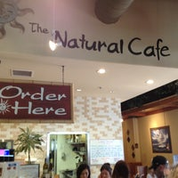 Photo taken at The Natural Cafe by Paul V. on 4/17/2013