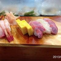 Photo taken at つきじ寿司 by Takeshi H. on 7/14/2013